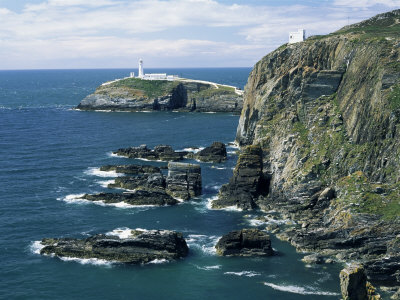 South Stack Lighthouse, Isle of Anglesey, Wales, United Kingdom Photographic Print by Roy Rainford