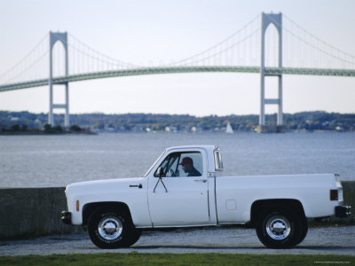Newport Bridge, Newport, Rhode Island, USA Photographic Print by Fraser Hall