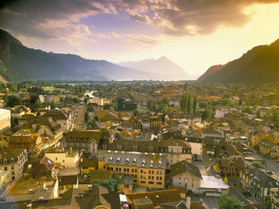 Interlaken, Switzerland Photographic Print by Simon Harris