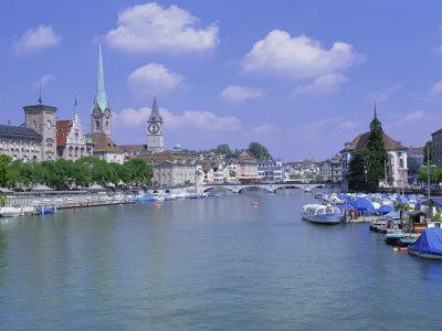 Zurich, Switzerland Photographic Print by Simon Harris