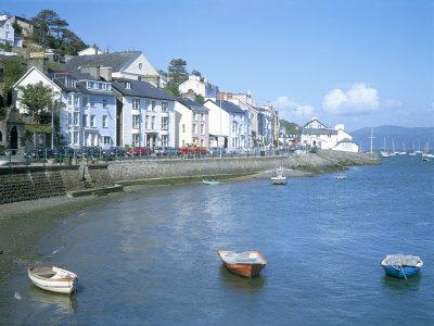 Dovey Estuary and Town, Aberdovey, Gwynedd, Wales, United Kingdom Photographic Print by David Hunter
