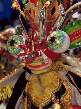 carnival brazil mask. Devil Mask, the Devil Dance