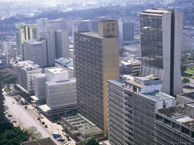 City Skyline, Nairobi, Kenya, East Africa, Africa Photographic Print by I Vanderharst