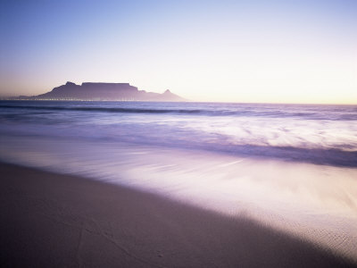 Table Mountain, Cape Town, Cape Province, South Africa, Africa Photographic Print by I Vanderharst