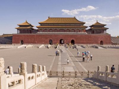 Forbidden City, Beijing, China Photographic Print by Adam Tall