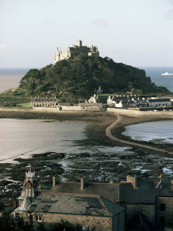St. Michaels Mount, Cornwall, England, United Kingdom Photographic Print by Adam Woolfitt
