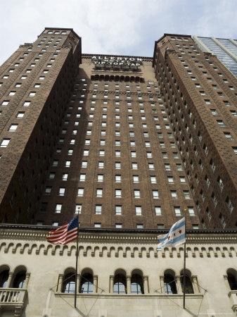 allerton crowne plaza hotel  chicago  illinois  usa photographic print