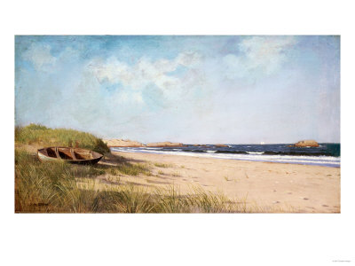 Along the Coast Premium Giclee Print by Hendrik Avercamp