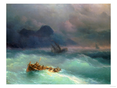 The Shipwreck, 1873 Giclee Print