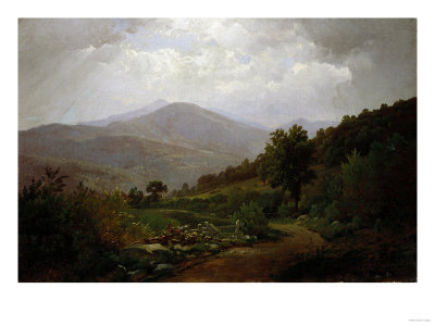 Bouquet Valley in the Adirondacks, 1864 Premium Giclee Print by Hendrik Avercamp