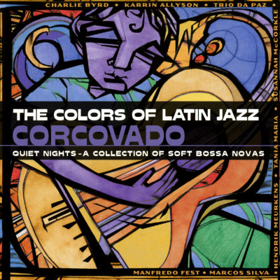 The Colors of Latin Jazz: Corcovado Premium Poster