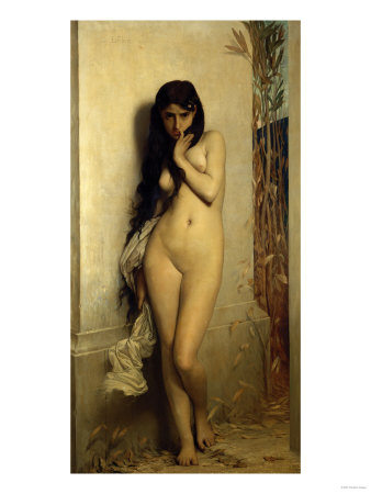 The Slave Girl, 1872 Giclee Print by Leon Bakst
