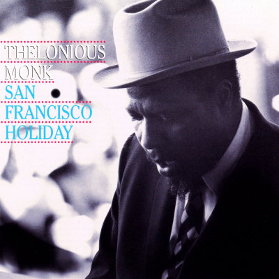 Thelonious Monk - San Francisco Holiday Posters