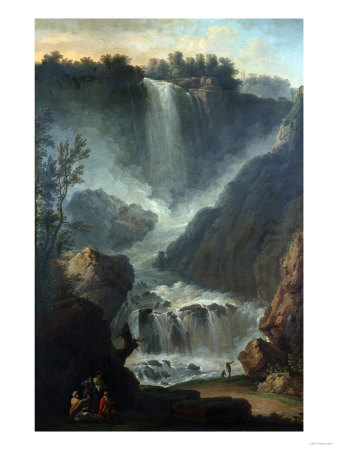 The Falls of Terni Premium Giclee Print by Hendrik Avercamp