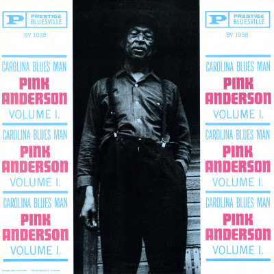 Pink Anderson - Carolina Blues Man, Vol. 1 Print