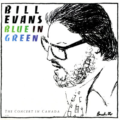 Bill Evans - Blue in Green Poster