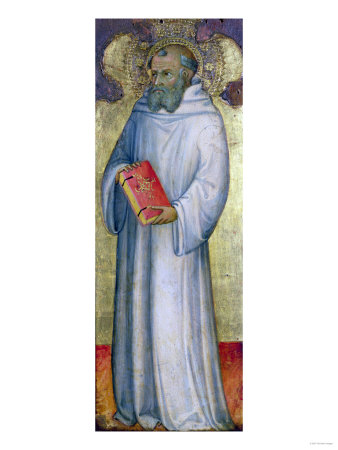 Saint Benedict Giclee Print