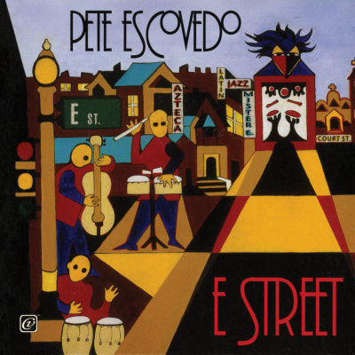 Pete Escovedo - E-Street Planscher