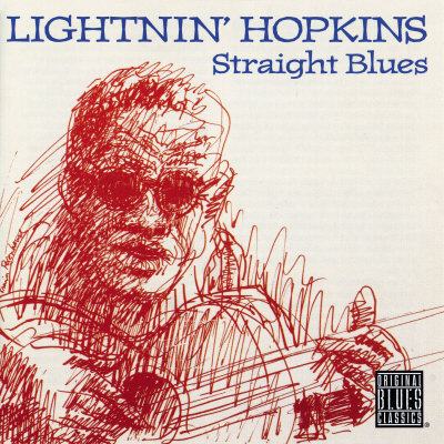 Lightnin' Hopkins - Straight Blues Print