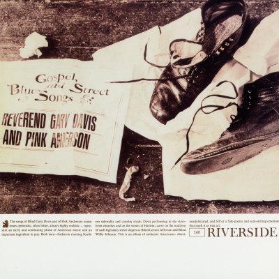 Rev. Gary Davis - Gospel, Blues and Street Songs Print