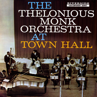 Thelonious Monk - The Thelonious Monk Orchestra in Town Hall Print