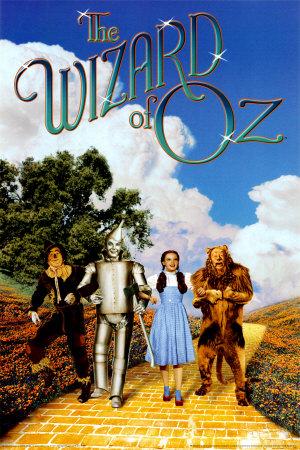 Troldmanden fra Oz Plakat