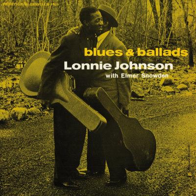Lonnie Johnson - Blues and Ballads Art