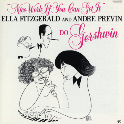 Ella Fitzgerald - Nice Work If You Can Get It Prints