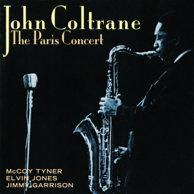 John Coltrane - The Paris Concert Premium Poster