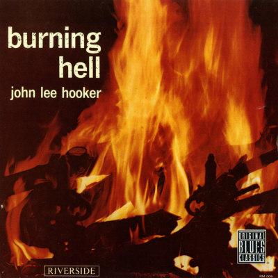John Lee Hooker - Burning Hell Print