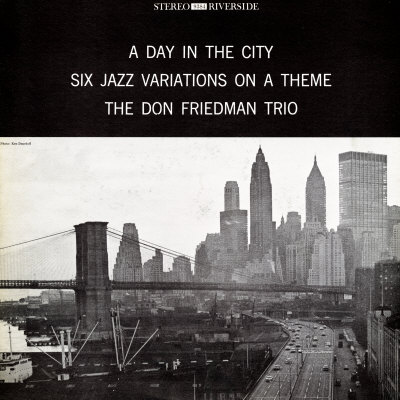 Don Friedman Trio - A Day in the City Premium Poster