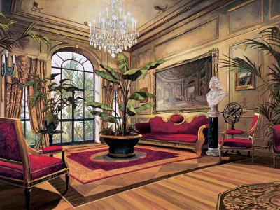 Gran salón Lámina