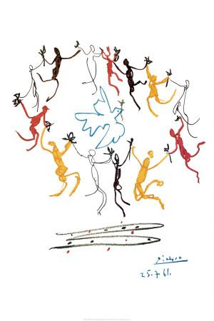 Der Reigen Kunstdruck von Pablo Picasso