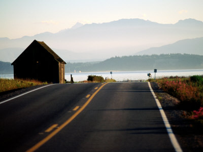 Ebey Road Near Ebey's Landing, Whidbey Island, Washington Photographic Print