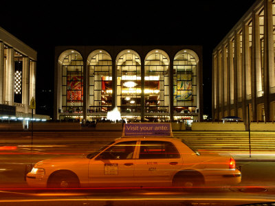 Lincoln Center at Night, Upper West Side, New York City, New York Photographic Print