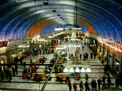 Interior of Stockholm Central Train Station, Stockholm, Sweden Photographic Print by Martin Lladó