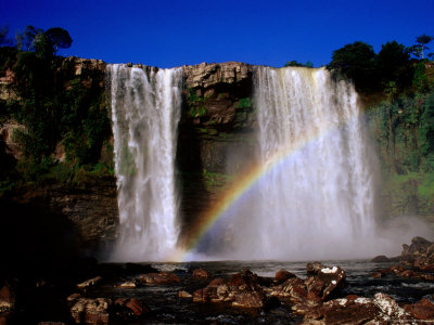 Kama Falls, Gran Sabana, Bolivar, Venezuela Photographic Print by Krzysztof Dydynski