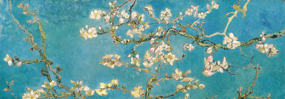 Almond Branches in Bloom, San Remy, ca. 1890 Kunsttryk