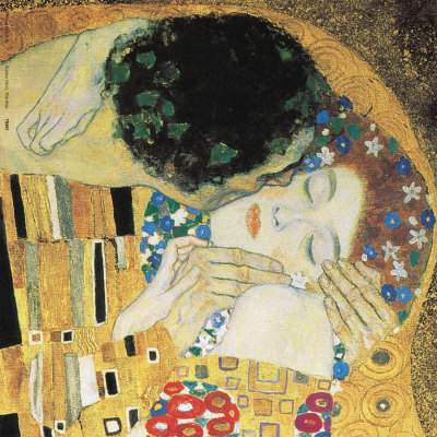 The Kiss, c.1907 (detail) Art Print