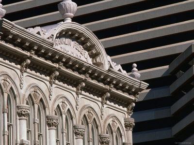 Architecture Downtown, Austin, Texas Photographic Print by John Elk III