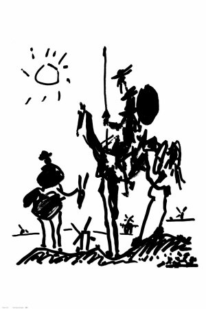 Don Quichotte Reproduction d'art