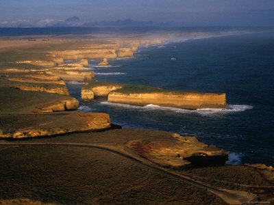 Coastline, Port Campbell National Park, Victoria, Australia Photographic Print by Peter Hendrie