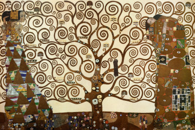 The Tree of Life, Stoclet Frieze, ca. 1909 Kunsttryk
