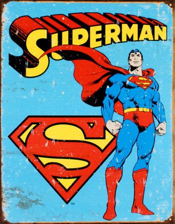 Superman Tin Sign