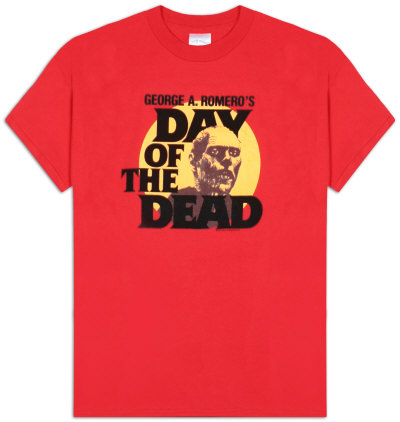 Day of the Dead - Zombie Head Camisetas