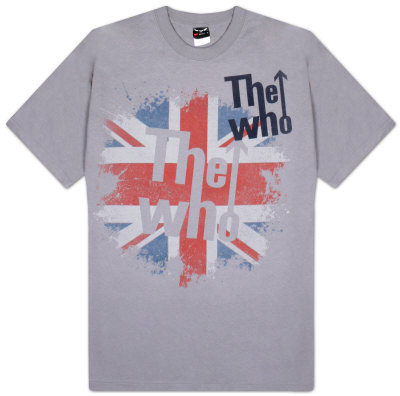 The Who - Union Jack délavé T-Shirt
