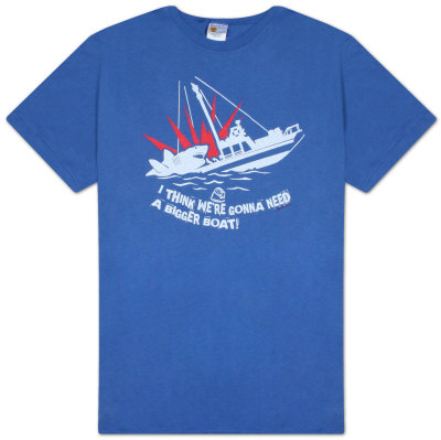 Jaws - I Think We Are Going to Need a Bigger Boat Shirts