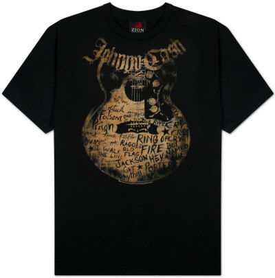 Johnny Cash - Songs T-shirts