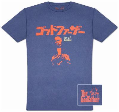 The Godfather - Japanese Logo Shirts