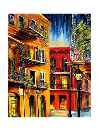 French Quarter Balconies Prints by Diane Millsap